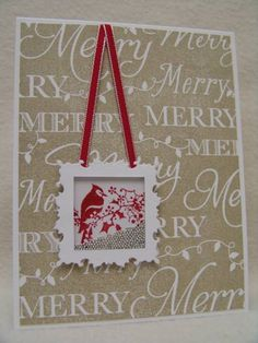 IC353 Merry Shaker by suen - Cards and Paper Crafts at Splitcoaststampers