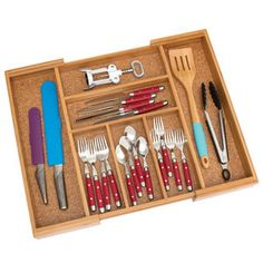 Expandable Flatware Organizer now featured on Fab.
