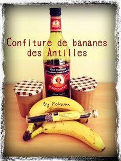 Les Rendez-Vous Gourmands: Confiture de bananes des Antilles