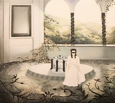 NADA ACKEL. LA COLOMBE, 1989. Huile sur toile (oil on canvas), 100x117 cm.