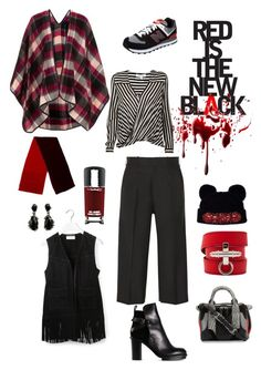 Rouge Noir by rodaisabella on Polyvore featuring polyvore, fashion, style, 10 Crosby Derek Lam, Topshop, Yves Saint Laurent, Victoria Beckham, Acne Studios, New Balance, Alexander Wang, Givenchy, Alexis Bittar, Gucci, Markus Lupfer, MAC Cosmetics and clothing