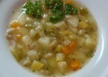 Uzená zeleninová polévka