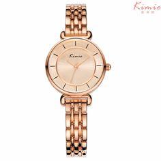 Kimio women's watches analog quartz watch rose gold montre femme clock women dress ladies watches Clock women rose gold watch #Affiliate