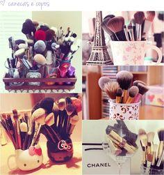 Dicas | Como organizar sua penteadeira ou cantinho de maquiagem - Tudo Make - Maior blog de maquiagem, beleza e tutoriais de Curitiba.