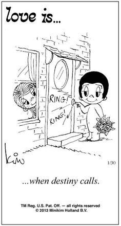 Love Is Cartoons by Kim   Love Is ... Comic Strip by Kim Casali (January 30, 2013)
