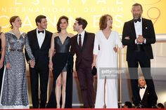 Lea Seydoux, Gaspard Ulliel, Marion Cotillard, Xavier Dolan, Nathalie Baye and Vincent Cassel attend the 'It's Only The End Of The World (Juste La Fin Du Monde)' Premiere during the 69th annual Cannes Film Festival at the Palais des Festivals on May 19, 2016 in Cannes, .