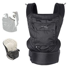 The Onya Baby Outback Bundle Baby Carrier has everything a parent could want. Ready for use with a newborn and easily adjustable as your baby grows. Extremely comfortable for both your baby and you, this carrier features a unique hidden, built-in seat. Great gift for fathers day!!!!  Buy Buy Baby $159.99