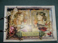 Фотоальбомы ручной работы. Ярмарка Мастеров - ручная работа. Купить Ромео и Джульетта.Фотоальбом.Винтаж, романтический. Handmade. Комбинированный, фотоальбом