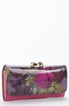 Ted Baker London 'Floral Print' Matinee Wallet | Nordstrom http://shop.nordstrom.com/S/ted-baker-london-floral-print-matinee-wallet/3498624?origin=category-personalizedsort=0==342_sp=personalizedsort-_-browseresults-_-1_1_B