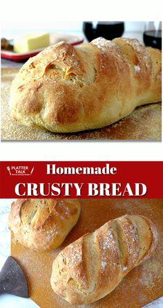 Artisan Bread Recipes, Bread Machine Recipes, Easy Bread Recipes, Baking Recipes, Italian Bread Recipes, Breville Bread Maker Recipes, Baking Ideas, Bread Recipes With Yeast, Easy Healthy Bread Recipe