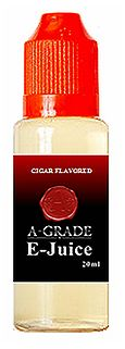 Whether youre looking to enhance your vaping experience or reload your A-Grade signature e-Cigar, our premium blend of Cigar Flavored A-Grade E-Juice is the perfect remedy. Available in 20ml increments, not only will we keep you vaping, well keep you saving! www.agradeecigs.com