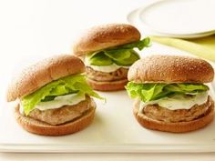 A Twist on Turkey Burgers... video looks great and healthy