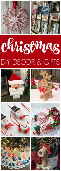 DIY Christmas Decor & Gift Ideas via Pretty My Party