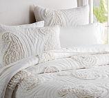 Katelyn Paisley Ruffle Applique Quilt & Shams | Pottery Barn