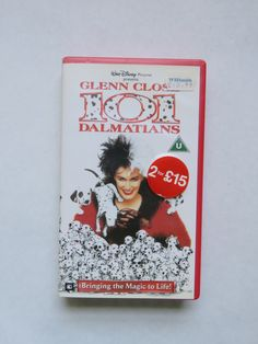 Disney's 101 Dalmations VHS tape by GiftedEnrichment on Etsy