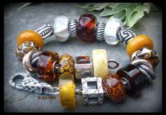 Ambers; beautiful bracelet by Deborah Taylor