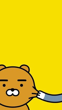 Check out this awesome collection of Kakao Friends wallpapers, with 37 Kakao Friends wallpaper pictures for your desktop, phone or tablet. Cartoon Wallpaper, Bear Wallpaper, Locked Wallpaper, Kawaii Wallpaper, Pastel Wallpaper, Wallpaper Iphone Cute, Cute Wallpapers, Wallpaper Backgrounds, Ryan Bear