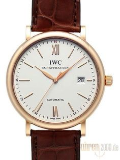 IWC Portofino Automatik IW356504 Rotgold