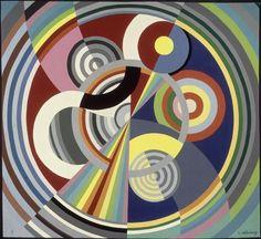 Rhythm # 1 Robert Delaunay