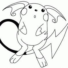 Pokemon Pikachu Coloring Pages Pikachu Coloring Page, Pokemon Coloring Pages, Cute Coloring Pages, Coloring Sheets, Coloring Books, Coloriage Pokemon Mega, Pokemon Go, Images Of Colours, Fanart