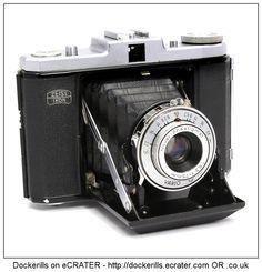 Zeiss Ikon Nettar Film Camera.