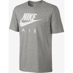 Nike Air Heritage Men's T-Shirt. Nike.com (13.420 CRC) ❤ liked on Polyvore featuring men's fashion, men's clothing, men's shirts, men's t-shirts and mens t shirts