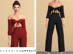 Claudio Jumpsuit for The Sims 4 Mods Sims 4, Sims 4 Mods Clothes, Sims 4 Clothing, Sims 4 Cc Packs, Sims 4 Mm Cc, The Sims 4 Pc, Komplette Outfits, Outfits For Teens, Sims 4 Outfits