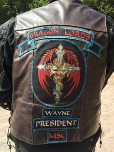 MOTORCYCLE VEST PATCH SCRIPTURE PATCH RIDE FORTH VICTORIOUSLY