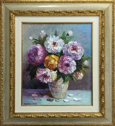 Paintings, Artist, Flowers, Stuff To Buy, Paint, Painting Art, Florals, Painting, Painted Canvas