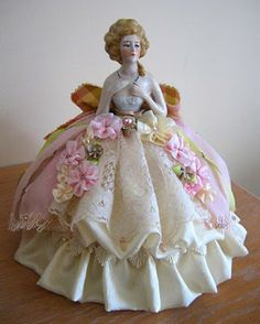 Designs By Terri Gordon: My Marie Half Doll