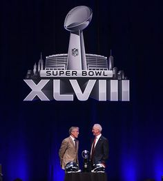 Super Bowl press conference.