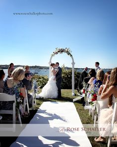 Cindy and Kurt's Block Island Wedding at the Sullivan House | NY photographer Rose Schaller Photo