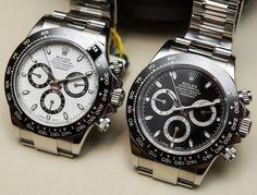 Rolex [NEW][HK888-STOCK-香港行貨] Daytona 116500LN ~ White Dial 白面: HK$140,000. Black Dial 黑面: HK$137,000.  兩支手錶都是足五年全球聯保的香港行貨!!
