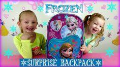 Frozen Surprise Backpack * Frozen Fashems * Frozen Elsa & Anna