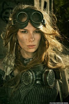 woman warrior post apocalyptic | Post Apocalyptic Costumes with Nuclear Snail