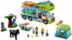 Lego Friends Mia's Camper Van for sale online Lego Friends Sets, Lego Clones, Lego System, Buy Lego, Lego News, Cute Toys, Lego Building, Lego Ninjago, Lego City