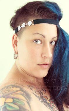 self portrait.  headband shoot, adora bows by leila hale leila hale photography