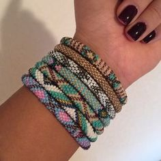 Beaded Nepal Roll On Bracelets How To Make Beads