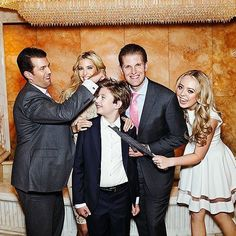 Donald Trump Jr. aka a Penn Graduate Just like his father, the oldest Trump child is a graduate of the Wharton School at the University of Pennsylvania.