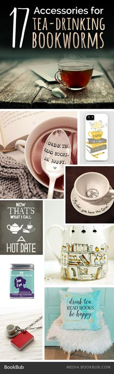 If you love books (and tea!) check out these 17 adorable accessories.