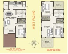 This West facing house plans per vastu 5 face floor plan as lofty inspiration competent photos and collection about 29 west facing house plans per vastu divine. Per facing house vastu plans West Plan images that are related to it Small House Layout, House Layout Plans, Small House Design, House Layouts, Modern House Design, 2bhk House Plan, Model House Plan, Simple House Plans, Dream House Plans