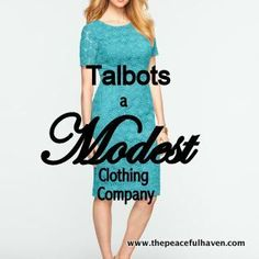 3831039fdae Modest Clothes Girly - Talbots a Modest Clothing Company...  ModestClothes   Girly