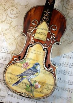 The Art of Toni Kelly: Art of the Violin...finished