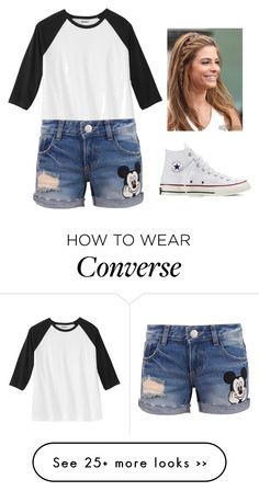 """""""Contest!!!"""" by sillybands95 on Polyvore featuring Disney, Converse, vintage and myfashionrj"""