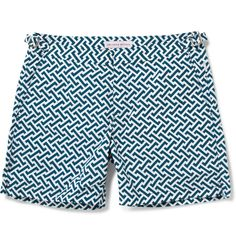 Orlebar Brown Bulldog Geometric Print Swim Shorts | $240