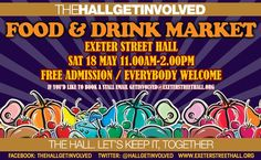 Food and Drink Market, Sat May, to Free Admission, 18th, Posters, Let It Be, Marketing, Drinks, Food, Meal, Eten