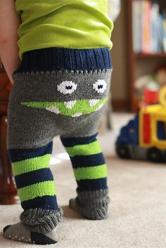 everything baby boy, baby monster stuff, monster leg, knitting for boys, babi, monster pant, monsters, monster can, monster butt