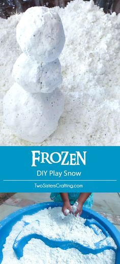 Disney Frozen DIY Play Snow
