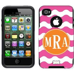 monogrammed otterbox case for my iphone!