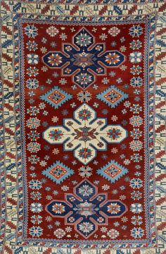 Shirvan, Russia, circa 60 years old, wool/wool, approx. 168 x 110 cm